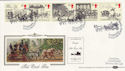 1984-07-31 Mail Coach Liverpool Silk FDC (55260)