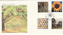 2000-08-01 Tree and Leaf Stamps Wistow FDC (55353)