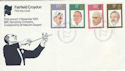 1980-09-10 Conductors Fairfield Official FDC (55369)