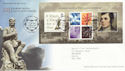 2009-01-22 Robert Burns Stamps M/S Alloway FDC (55676)