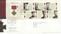 2006-09-21 Victoria Cross Stamps M/S Cuffley FDC (55695)