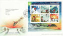 2004-11-02 Christmas Stamps M/S Bethlehem FDC (55718)