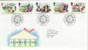 1994-08-02 Summertime Stamps Bureau FDC (55752)