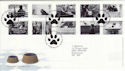 2001-02-13 Cats and Dogs Stamps Bureau FDC (55757)