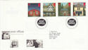 1997-08-12 Post Offices Stamps Bureau FDC (55763)