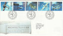 1997-06-10 Architects of the Air Bureau FDC (55765)