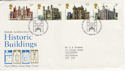 1978-03-01 Historic Buildings Stamps Bureau FDC (55780)