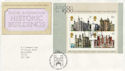 1978-03-01 Historic Buildings Stamps M/S Bureau FDC (55781)