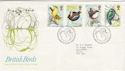 1980-01-16 British Birds Stamps Bureau FDC (55803)