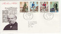 1979-08-22 Rowland Hill Stamps Bureau FDC (55806)