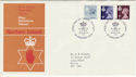 1978-01-18 N Ireland Definitive Belfast FDC (55813)