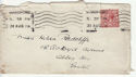 1912-24 King George V 1½d used on envelope (55851)