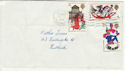 1968-11-25 Christmas Stamps Falkirk wavy FDC (55917)