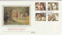 1985-09-03 Arthurian Legend St Paul's Silk FDC (56026)