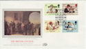 1984-09-25 The British Council London Silk FDC (56033)