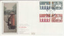 1984-05-15 Europa Stamps London SW1 Silk FDC (56037)