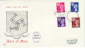 1971-07-07 IOM Definitive Stamps Douglas FDC (56206)