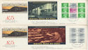 1986-03-18 British Rail PSB Full Panes x4 FDC (56243)
