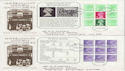 1982-05-19 Stanley Gibbons PSB Full Panes x4 FDC (56250)