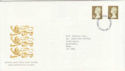1997-04-21 Gold Definitive Stamps Luton FDC (56280)