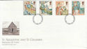 1997-03-11 Missions of Faith Stamps Northumberland FDI (56286)