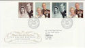 1997-11-13 Golden Wedding Anniv Bureau FDC (56298)