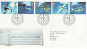 1997-06-10 Architects of the Air Bureau FDC (56301)