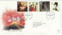 1999-06-01 Entertainers Tale Stamps Bureau FDC (56319))