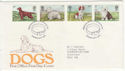 1979-02-07 Dogs Stamps London SW FDC (56358)