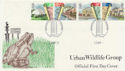 1984-04-10 Urban Wildlife Group Birmingham FDC (56378)