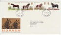 1978-07-05 Horses Stamps Luton FDC (56402)