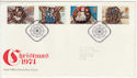 1974-11-27 Christmas Stamps Bethlehem FDC (56435)