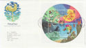 2001-03-13 Weather Stamps M/S Bureau FDC (56479)