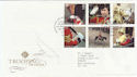 2005-06-07 Trooping The Colour T/House FDC (56483)