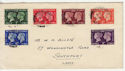 1940-05-06 KGVI Centenary Stamps Southport cds FDC (56522)