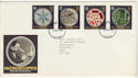1989-09-05 Microscopes Stamps FDC [Faded] (56578)