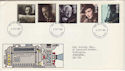 1985-10-08 British Films Stamps FDC [Faded] (56587)