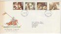 1985-09-03 Arthurian Legend Stamps FDC [Faded] (56588)
