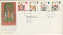 1987-07-21 Scottish Heraldry Stamps FDC [Faded] (56606)