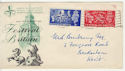 1951-05-03 KGVI Festival of Britain London WC FDC (56624)