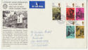 1970-06-03 Literary Anniv Rare Chigwell Official FDC (56626)