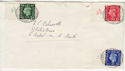 1937-05-10 KGVI Definitive A37 Control Margin FDC (56637)