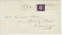 1938-01-31 KGVI 3d Definitive Edinburgh Slogan FDC (56641)