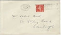 1938-01-31 KGVI 2d Definitive Edinburgh Slogan FDC (56642)
