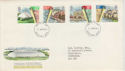 1984-04-10 Urban Renewal Stamps FDC [Faded] (56653)