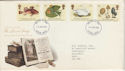 1988-01-19 The Linnean Society Stamps FDC [Faded] (56660)