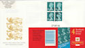 2000-04-27 GT1 Booklet Stamps Gatwick FDC (56697)