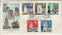 1972-06-21 Churches Huish Episcopi Langport FDC (56716)
