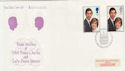 1981-07-22 Royal Wedding STCF London FDC (56732)
