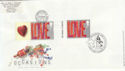 2002-03-05 Occasions Doulbed with LS7 Love Lane FDC (56764)